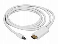 Кабель Mini DisplayPort to HDMI 1.8m (miniDP Apple Переходник thunderbolt)