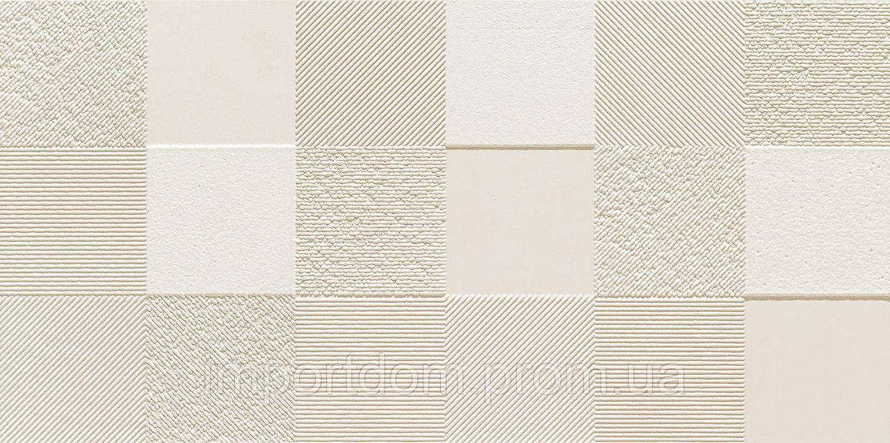 Плитка для пола и стен декор Tubadzin Blinds white STR 1  598x298x11