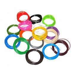 Набор ABS пластика Kronos нити для 3D ручки из 16 цветов 160 метров (gr_008369)