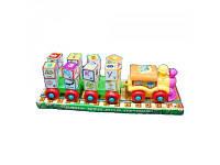Развивающая игрушка с буквами - кубиками Паровоз 2366 A
