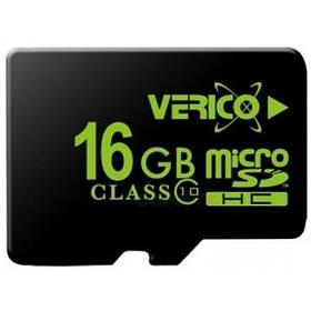 Карта памяти Verico MicroSDHC 16GB Class 10 Черный (892-1927)