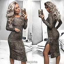 """Роскошное женское платье ткань """"Костюмная(софт)"""" 40, 42 размер норма 40"""