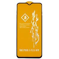 Полноэкранное защитное стекло Lesko для смартфона OnePlus 7 Black (3894-10820)