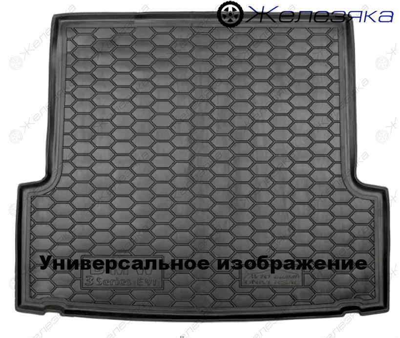 Коврик багажника Mitsubishi Outlander (2012-) (с органайзер.) Avto-Gumm