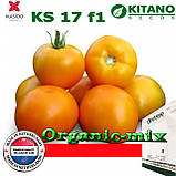 "Семена, томат крупноплодый золотисто-желтый KS 17 F1  ТМ ""Kitano Seeds"" (500 семян), фото 2"