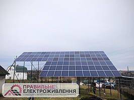 Мережева СЕС 30 кВт у смт. Шкло 1