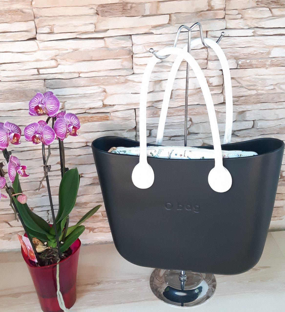 Женская сумка O bag classic в черном корпусе