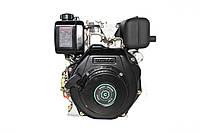 Двигун дизельний GrunWelt GW178F (вал під шліци, ручний старт), фото 1