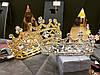 Корона кругла ТІНА, корона на голову в каменях, дитяча корона, Прикраси, фото 10