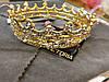 Корона кругла ТІНА, корона на голову в каменях, дитяча корона, Прикраси, фото 9