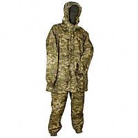 Камуфляжний костюм дощовик піксель, костюм дощовик піксель.