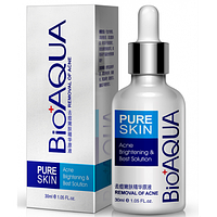 Сыворотка от прыщей. Против акне и воспалений Pure Skin BioAqua Anti-Acne.