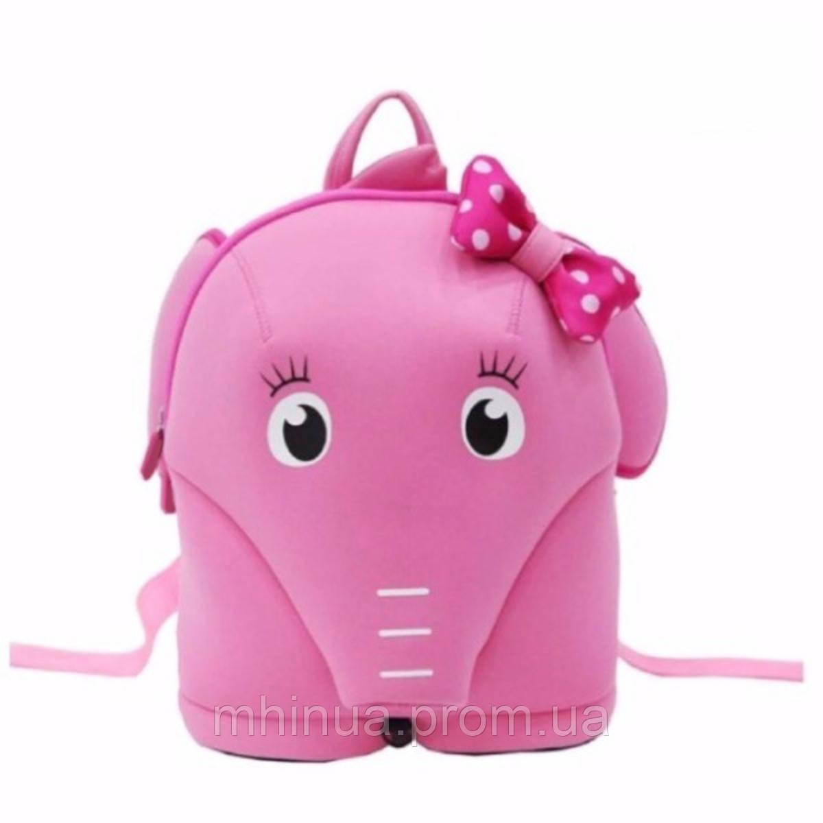 Дитячий рюкзак Nohoo Слоник Рожевий (NH071)