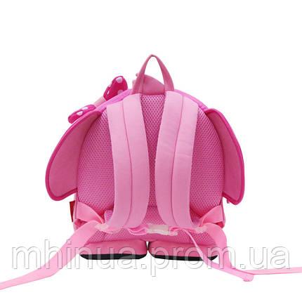 Дитячий рюкзак Nohoo Слоник Рожевий (NH071), фото 2