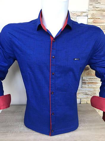 Распродажа!!! Рубашка длинный рукав Paul Jack с принтом, фото 2
