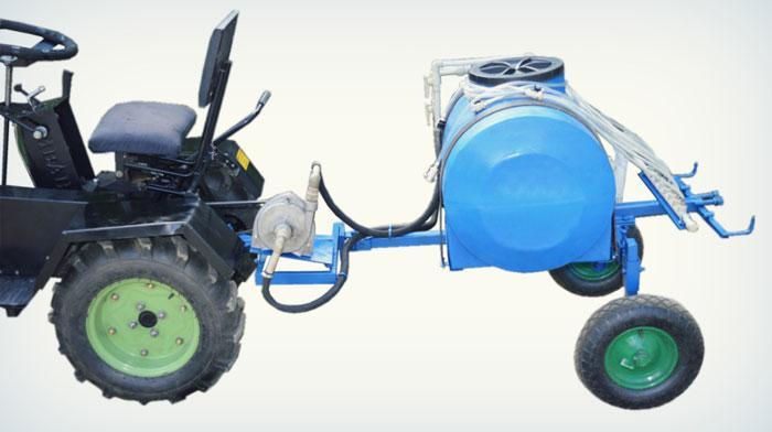 Опрыскиватель для мототрактора 250 л (ОП6) | Обприскувач 250 л з насосом (причіпне 3 точки)