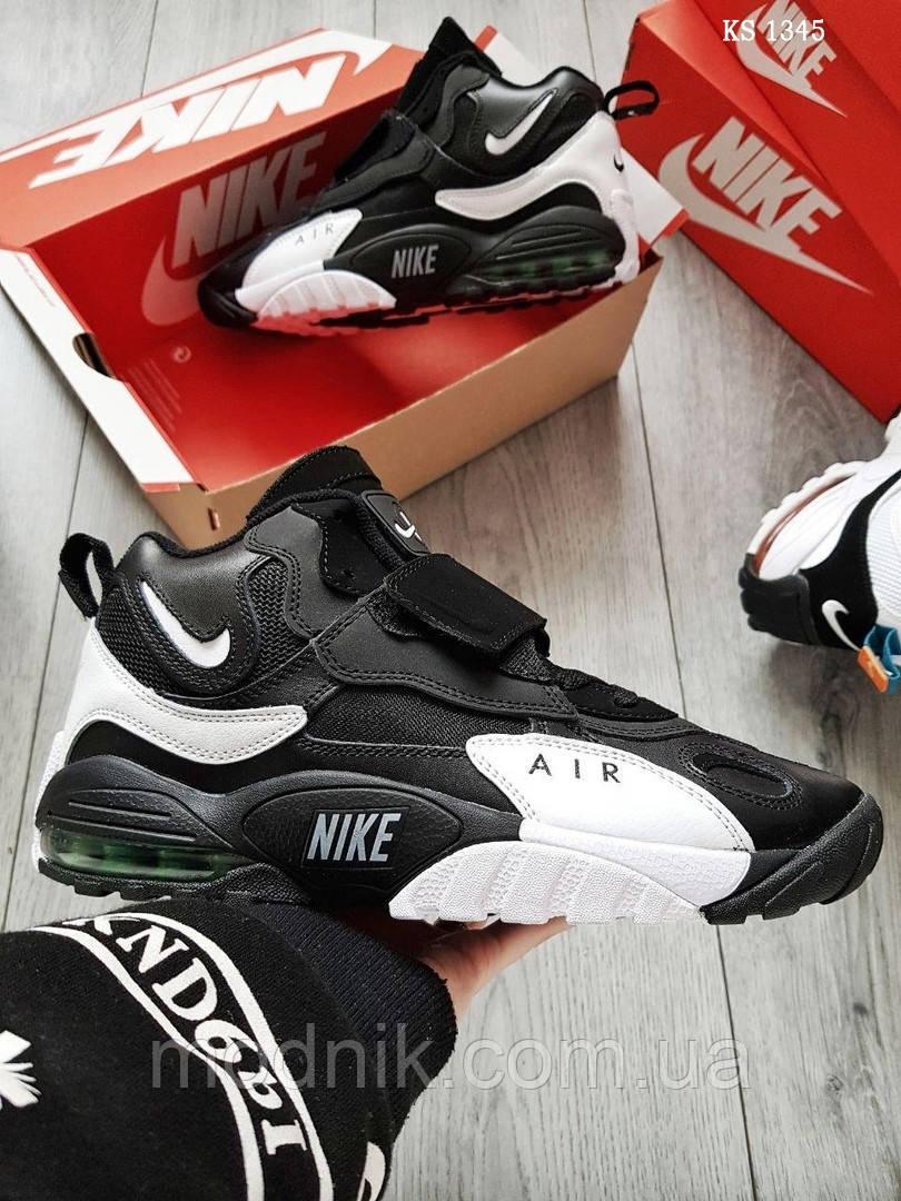 Мужские кроссовки Nike Sportswear Air Max Speed Turf (черно-белые)