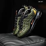 Мужские кроссовки Nike Air Max AM720-818 (зеленые) - термо, фото 2