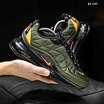 Мужские кроссовки Nike Air Max AM720-818 (зеленые) - термо, фото 3