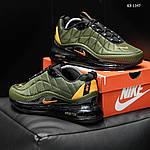 Мужские кроссовки Nike Air Max AM720-818 (зеленые) - термо, фото 4