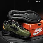 Мужские кроссовки Nike Air Max AM720-818 (зеленые) - термо, фото 5