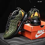 Мужские кроссовки Nike Air Max AM720-818 (зеленые) - термо, фото 6