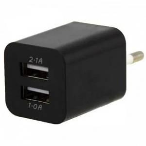 Адаптер переходник USB 220v зарядка Double AR-2100