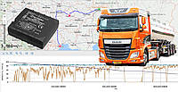 GPS мониторинг грузового транспорта с контролем топлива