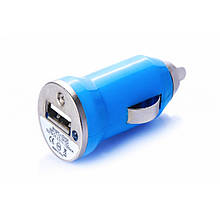 Зарядка автомобильная (1 USB/ 1A) разные цвета арт.955
