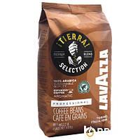 "Кава ""Lavazza"" зерно Tierra Selection 1кг коричнева (100% арабіка) (1/6)"
