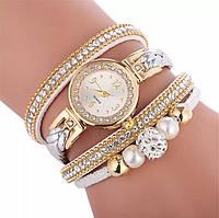 Часы браслет женские белые
