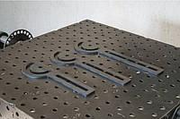 Транспортир удлиненный 400 х 50 мм для сварочного стола Workroom сталь 8 мм