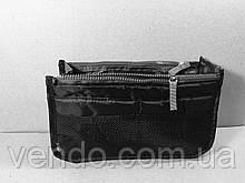 Косметичка органайзер Bag in Bag  в сумку / черный