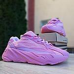 Женские кроссовки Adidas Yeezy 700 V2 (розовые), фото 7