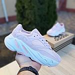 Женские кроссовки Adidas Yeezy 700 V2 (бледно-розовые), фото 5