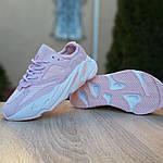 Женские кроссовки Adidas Yeezy 700 V2 (бледно-розовые), фото 6