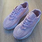 Женские кроссовки Adidas Yeezy 700 V2 (бледно-розовые), фото 9
