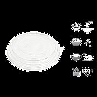 Крышка КР18,4 для салатника 1000мл/1300мл 1уп/50шт (1ящ/300шт)