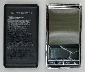 Високоточні ювелірні ваги до 300 гр Kronos (крок 0.01) з чохлом (bks_00368)