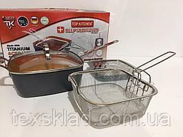 Сковорідка-фритюрниця, пароварка TOP KITCHEN BN-8001