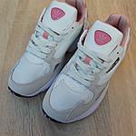 Женские кроссовки Adidas Falcon (бело-пудровые), фото 9