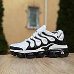 Мужские кроссовки Nike Air VaporMax (бело-черные), фото 2