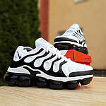 Мужские кроссовки Nike Air VaporMax (бело-черные), фото 4