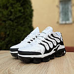 Мужские кроссовки Nike Air VaporMax (бело-черные), фото 6
