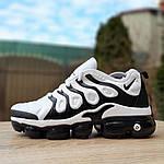 Мужские кроссовки Nike Air VaporMax (бело-черные), фото 7