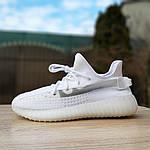 Женские кроссовки Adidas Yeezy Boost 350 V2 (белые), фото 2