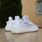 Женские кроссовки Adidas Yeezy Boost 350 V2 (белые), фото 4