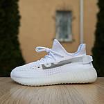 Женские кроссовки Adidas Yeezy Boost 350 V2 (белые), фото 5
