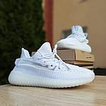 Женские кроссовки Adidas Yeezy Boost 350 V2 (белые), фото 8