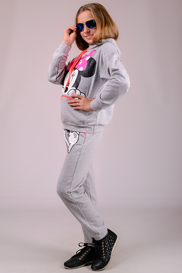 Детский спортивный костюм для девочки Mause (34 р. рост 128)